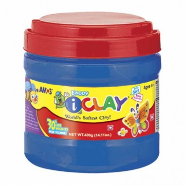 Bote de arcilla polimerica de 400 grs i-Clay