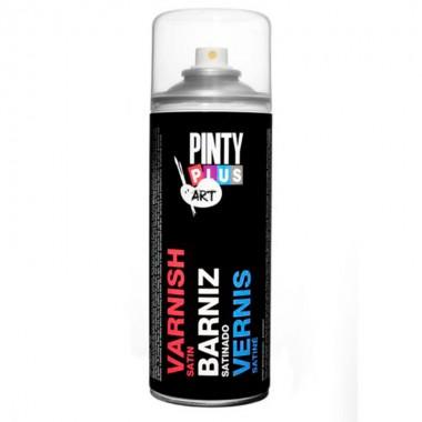 barniz en spray Satinado para manualidades 400 ml - Pintyplus