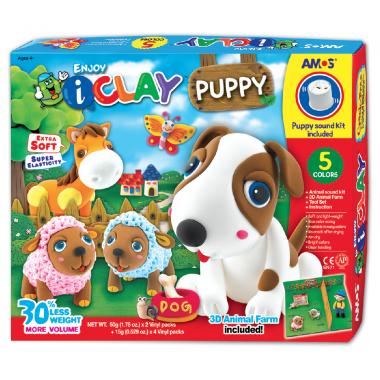 Kit completo para diseñar tu mascota canina de arcilla polimerica i-Clay