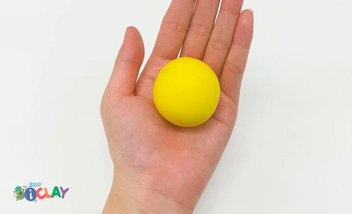 como modelar una bola de arcilla polimérica