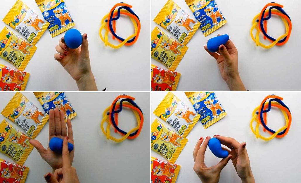 crea el cuerpo con este juguete para hace manualidades