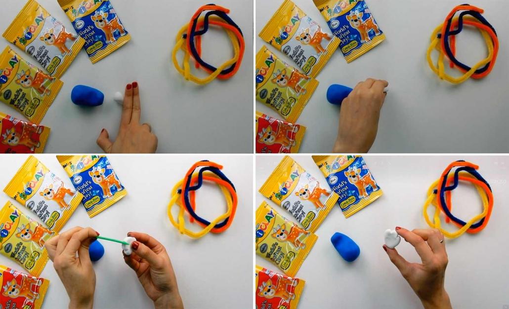 crea la cola con este juguete para hacer manualidades
