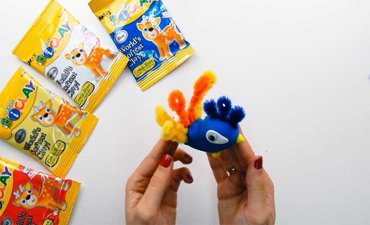 crea la cresta con este juguete para hacer manualidades