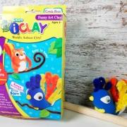 crea un pavo real con este juguete para hacer manualidades