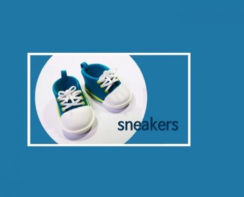 modelar unas sneakers con arcilla polimérica