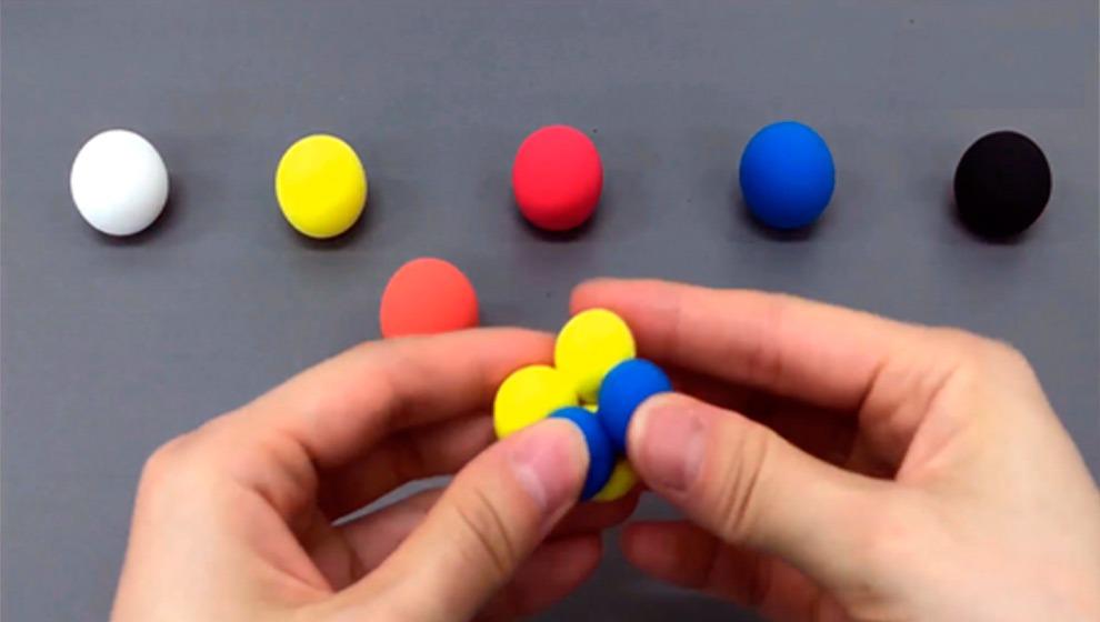 mezclar colores con arcilla polimérica