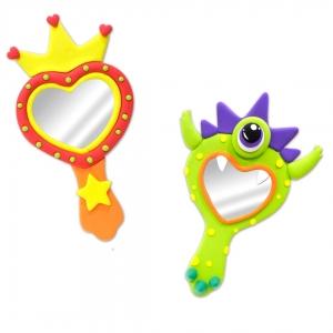 juegos-de-manualidades-para-crear-un-espejo-con-arcilla-polimérica