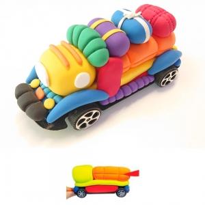 juegos-de-manualidades-para-hacer-un-coche-con-arcilla-polimérica