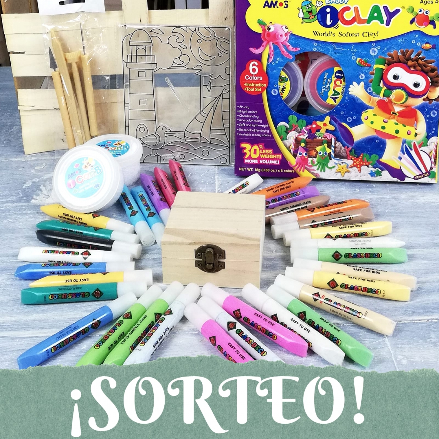 Sorteo kit de materiales para manualidades