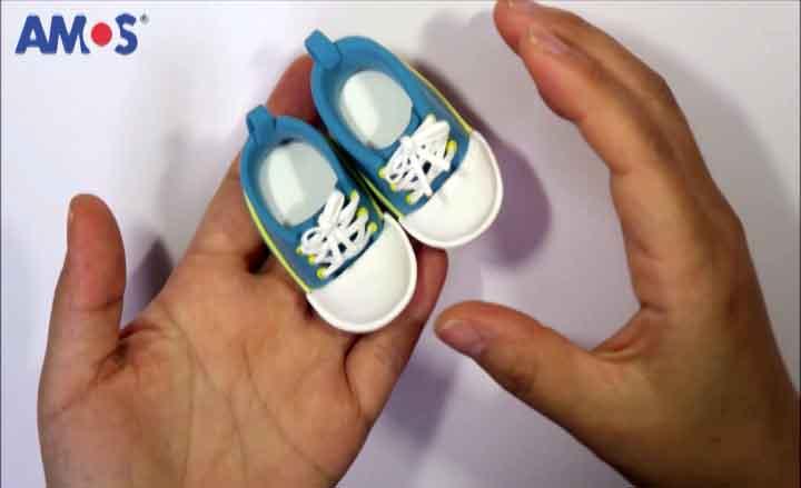 Sneakers arcilla terminadas